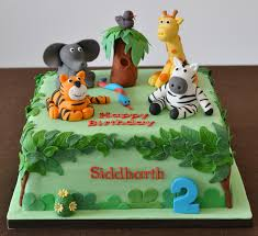 zoo themed birthday cake safari cakes decoration ideas little birthday cakes