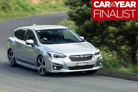 2017 subaru impreza hatchback white subaru impreza 2017 car of the year finalist wheels