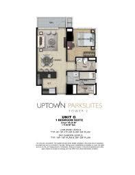 uptown parksuites tower 2 floor plans