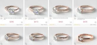 diamondless engagement rings what is the best color for gold rings
