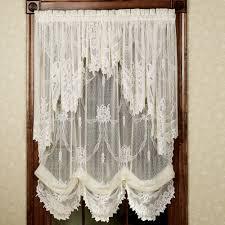 ivy kitchen curtains garland lace balloon shades lace balloons balloon curtains and