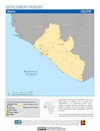 Ivory Coast Map Map Gallery Sedac