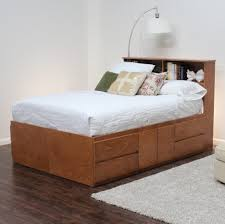 Bookcase Headboard With Drawers Bed Frames Wallpaper Hi Def Storage Bed King Twin Platform Bed