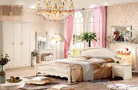 foshan shunde furniture european style bedroom set for sale with
