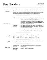 Resume Template Basic by Resume Template Sle 100rescommunities Org