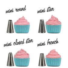 cupcake decorating tips mini cupcake decorating tip set cupcake ideas cake