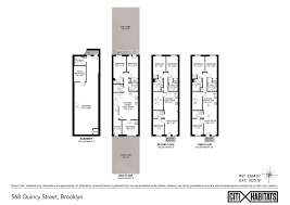 Brooklyn Brownstone Floor Plans by Rare Clinton Hill Carriage House With Huge Parking Garage Asks 4m