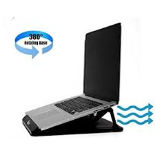 Laptop Riser For Desk Portable And Adjustable Cooling Laptop Stand Or