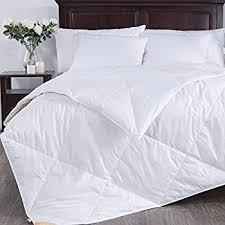 Light Cotton Fabric Amazon Com Puredown Lightweight Down Comforter Light Warmth Duvet