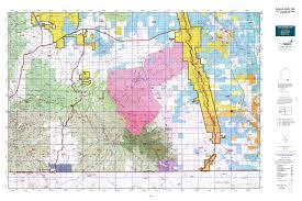 map az arizona gmu 35a map mytopo