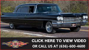 1963 cadillac 1963 cadillac series 75 limousine for sale youtube