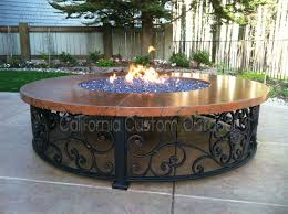 California Fire Pit by Spanish Style Fire Pit Table Deck Pinterest Fire Pit Table
