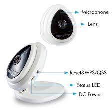 Interior Home Surveillance Cameras by Amazon Com Dbpower H 264 1280x720p Home Surveillance Camera