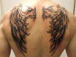 wing tribal design