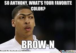 Anthony Meme - anthony davis by thechodenone48 meme center