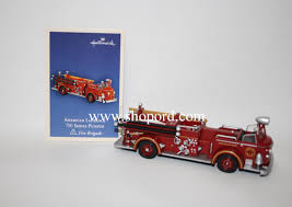 hallmark 2004 american lafrance 700 series pumper 2nd in the fire