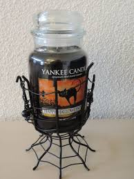 halloween candle jars halloween spider webs jar holder yankee candle duftkerzen schweiz