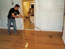 How To Buff Laminate Wood Floors How To Refinish A Floor How Tos Diy