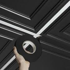 24 X 48 Ceiling Tiles Drop Ceiling by Black Acoustic Drop Ceiling Tiles Sound Absorbing 2 U0027x4 U0027 Acoustical