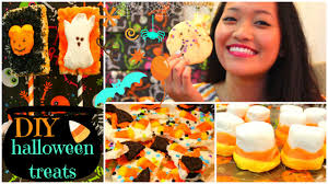 Diy Halloween Treats Easy U0026 Yummy Diy Halloween Treats Youtube