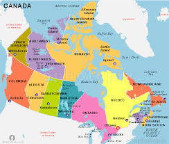 map of atlantic canada and usa map of the states and canada major tourist attractions maps