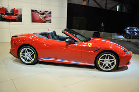 ferrari california 2016 an exclusive red ferrari california t to be seen at the 2016