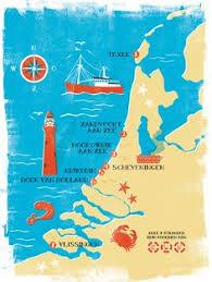 netherlands beaches map modena map for magazine marcela restrepo illustrations