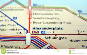 Berlin Metro Map by Berlin U Bahn Map Stock Photos Image 4674703