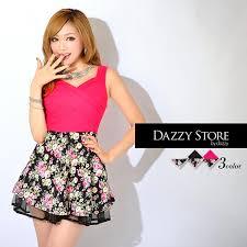 dazzy store バレンタイン 赤ドレス ピンクドレス 白ドレス ドレス 下着