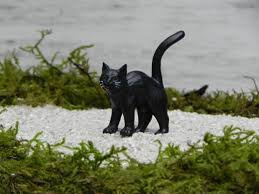 Black Cat Halloween Crafts Miniature Black Cat Halloween Miniature Fairy Garden Accessories