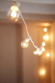 white cord globe string lights globe string lights string