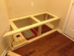 mudroom bench litter box enclosure a palermo with ryan homes