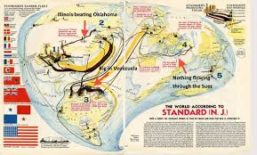 Baton Rouge Map Standard Oil 1940 Map Business Insider