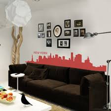 amazon com vinyl new york wall decal new york city wall decor new amazon com vinyl new york wall decal new york city wall decor new york skyline wall sticker wall mural wall graphic living room wall decor x large black