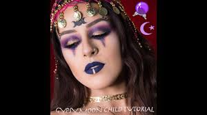 fortune teller gypsy halloween makeup 2017 tutorial youtube