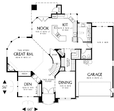 great room floor plans stetson 4607 4 bedrooms and 2 baths the house designers