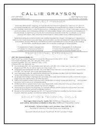 project manager sample resumes resume u0026 linkedin samples resume jane