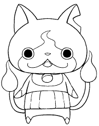 yo kai watch coloring pages getcoloringpages