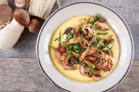 cuisine polenta tefal cuisine companion justine s polenta with sauteed mushrooms
