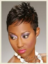 49 best black women short spike hairstyles images on pinterest