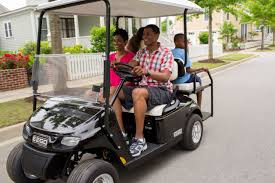 5 ways to use your golf cart this summer e z go