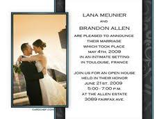 wedding invitation wording for already married yaseen wedding invitations for special moment