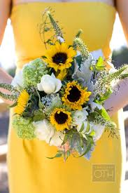 sunflower bouquets sunflower bouquets archives southern weddings