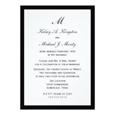 reception invitations reception invitations affordable budget post wedding reception