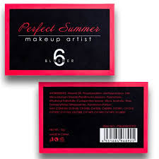 aliexpress com buy perfect summer face blush palette brand cheek