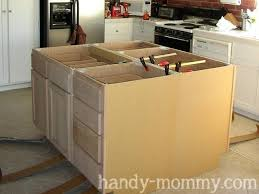 Make A Kitchen Island Building A Kitchen Island Bloomingcactus Me