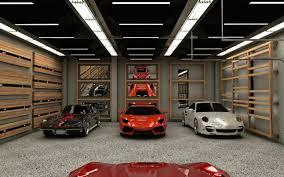 private showroom garage residential project actdesign by alain