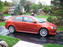 purple mitsubishi lancer review 2010 lancer gts the truth about cars