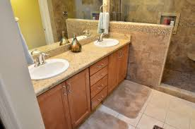colonial cream classic granite maple wellborn cabinets in
