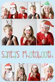 santa u0027s photobooth totally doing this with the kids this year